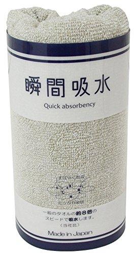 日本製 泉州タオル 瞬間吸水 ヘアケアタオル 約34×100...