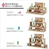 雛人形 プーカのひな人形 Puca HINANINGYO 積み木 ミニ雛人形 五人飾り 徳永こいのぼり 画像