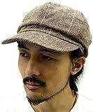 Marukawa JEANS POWER JEANS VALUE(マルカワジーンズパワージーンズバリュー) キャップ キャスケット グレンチェック ブラウン Free