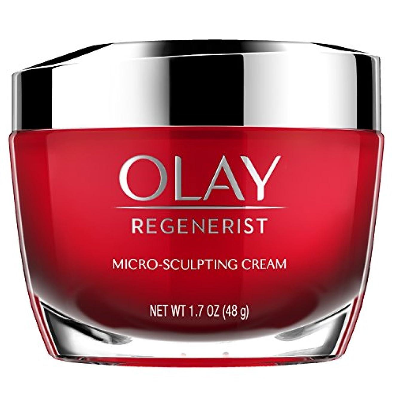 チャーター拮抗ヶ月目Olay Regenerist Micro-Sculpting Cream 1.7 Oz by Olay