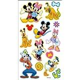 Disney Puffy Stickers-Mickey & Friends (並行輸入品)