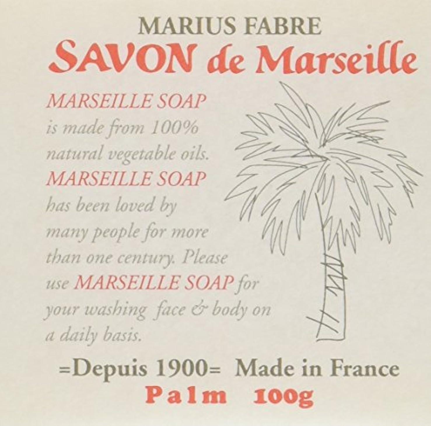 流体高原大声でサボン ド マルセイユ パーム 100g