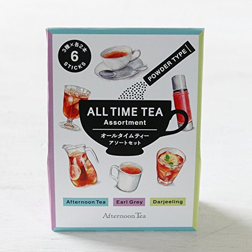 ALL TIME TEA アソートセット 6本入【AfternoonTea TEAROOM】