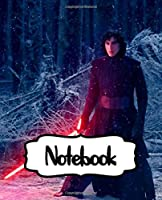 Notebook: Star Wars Gifts Series Movies Soft Glossy College Ruled Notebook The Last Jedi with Ruled Lined Paper for Taking Notes Writing Workbook for Teens and Children Students School Kids Inexpensive Gift For Boys and Girls