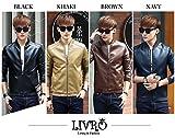 メンズ レザージャケット (リヴロ)LIVRO メンズ ブルゾン レザー ジャケット 革ジャン