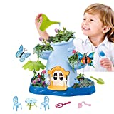 Vokodo Kids Magical Garden Growing Kit Includes Tools Seeds Soil Flower Plant Tree Interactive Play Fairy Toys Inspires Horticulture Learning Great Gift for Children Girls Boys