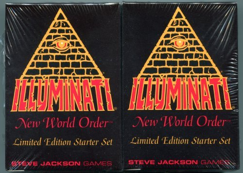 1994-1995 - Illuminati New World Order collectible card game - (INWO Limited Edition Starter Set) Factory Sealed 2 Double Decks 55 cards each INWO rulebook (110 Cards total) By Steve Jackson (Limited Edition 1st Printing 1994) (INWO Starter Set) [並行輸入品]