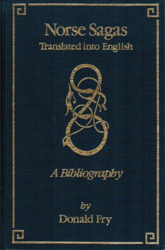 Download Norse Sagas Translated into English: A Bibliography (Ams Studies in the Middle Ages) 0404180167