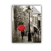 "ArtWall 2sch005a1824p Sue Schlabach's Paris Stroll 2 Removable Wall Art, 18"" x 24"" [並行輸入品]"
