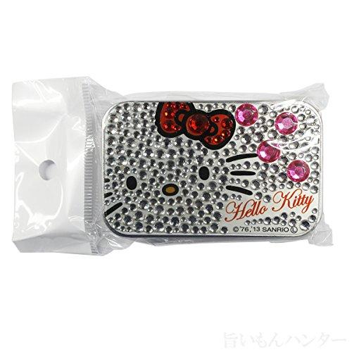 はろうきてぃ ラインストーンガム シルバー 4g×3袋入り×1個 沖縄のお土産 キャラクターパッケージでお子様にもおすすめ!