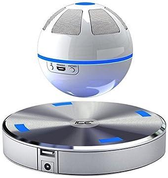 Tianyan 宙に浮く球体型 ブルートゥース スピーカー ワイヤレスBluetooth4.0 LED搭載 空中浮揚 NFC対応