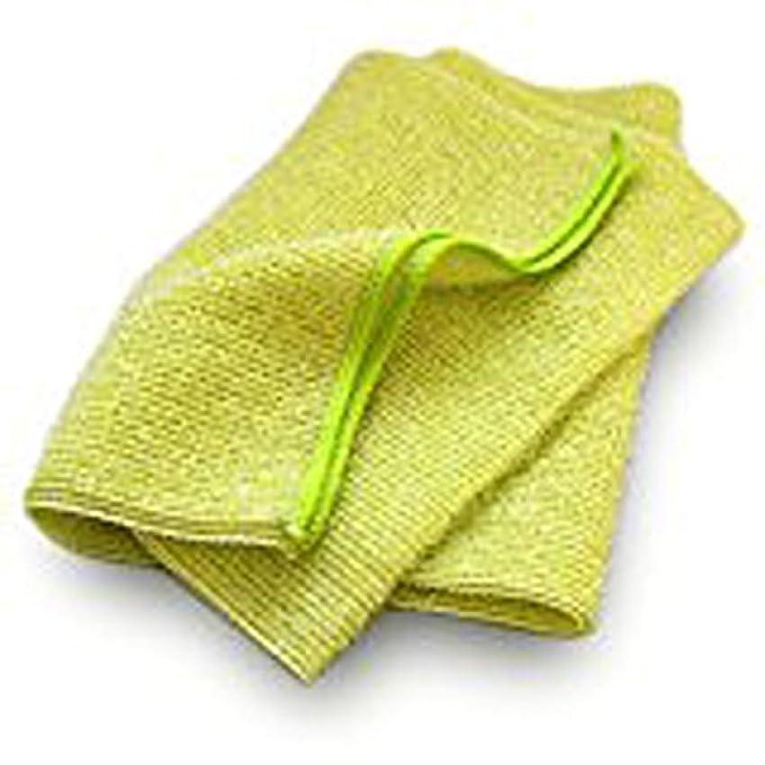 トチの実の木レッスン誰のブルーム なめらかホイップ ボディタオル (グリーン) [M] とうもろこし繊維 弱酸性 泡立ちなめらか やわらかめ 日本製