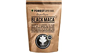 Certified Organic Black Maca Powder 250g (60 day supply)