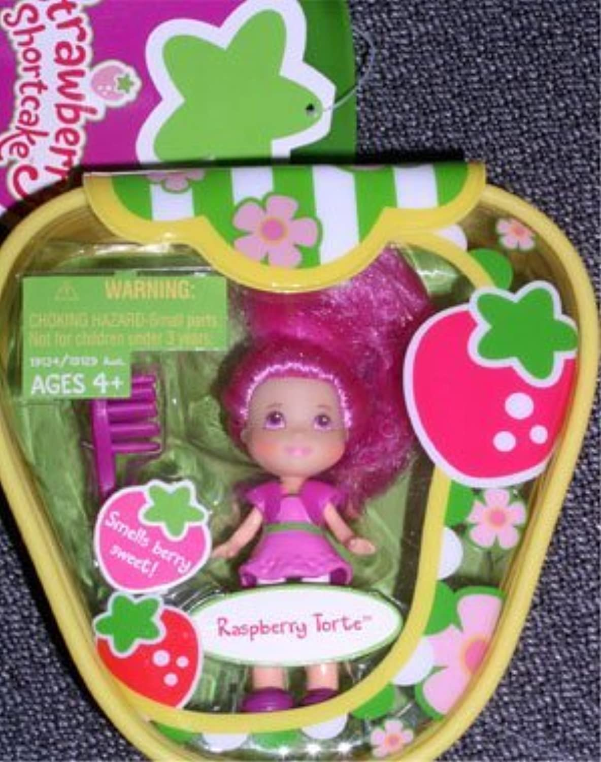 Strawberry Shortcake Hasbro Mini Doll in Purse Raspberry Torte by Strawberry Shortcakd [並行輸入品]