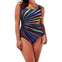 LOOKATOOL Womens Swimming Costume Padded Swimsuit Monokini Swimwear Push Up Bikini Sets