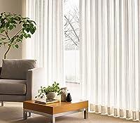 東リ ボリュームのある糸でストライプを表現 カーテン1.5倍ヒダ KSA60498 幅:100cm ×丈:280cm (2枚組)オーダーカーテン