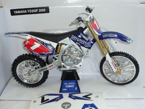 Yamaha Yz450f Yz 450 F 450f Yz450 Enduro Blau San Manuel Racing Bike 1/6 New Ray Motorradmodell Motorrad Modell by Modellcarsonline [並行輸入品]
