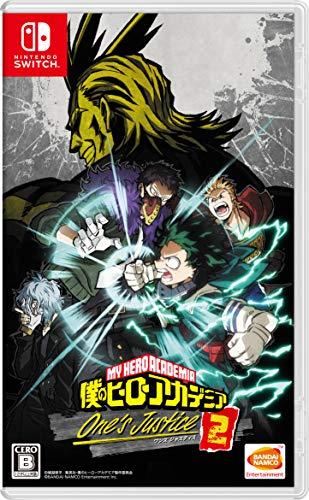 僕のヒーローアカデミア One's Justice2 -Switch 【Amazon.co.jp限定】ゲーム内アイテム「サンバイザーイーター(ユニークカラー)」が先行で入手できるプロダクトコード 配信 付