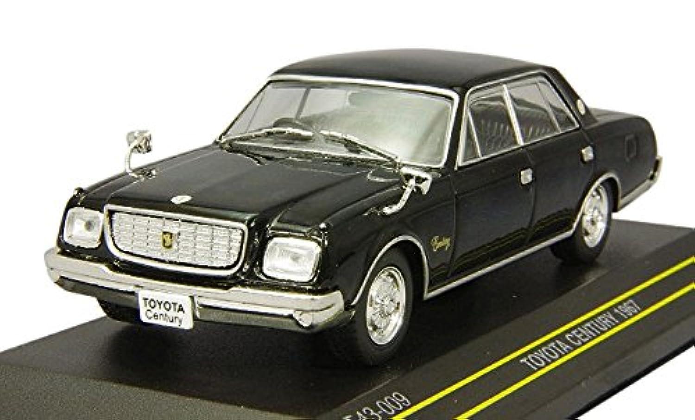 FIRST:43 1/43 トヨタ センチュリー 1967 ブラック 完成品
