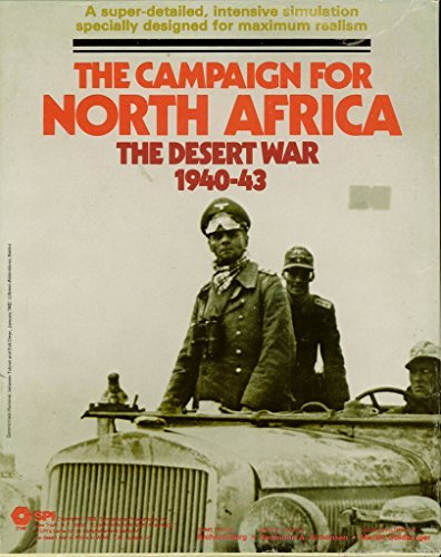 SPI: the Campaign for North Africa, the Desert War 1940-43, Board Game