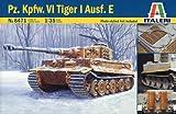 タミヤ イタレリ 1/35 ミリタリーシリーズ 6471 1/35 ドイツ重戦車 タイガーI エッチングパーツ付き 38471