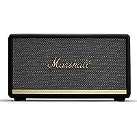 Marshall Stanmore II ワイヤレス Wi-Fi マルチルームスマートスピーカー Amazon Alexa 音声コントロール付き ブラック