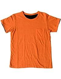 (フィルメランジェ) FilMelange CHEERY2 チーリー2 リバーシブル仕立て ポケット Tシャツ ユニセックス