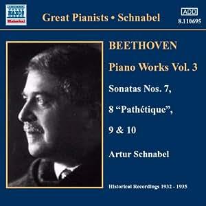 ベートーヴェン:ピアノ・ソナタ第7番 - 第10番(シュナーベル)(1932-1935)