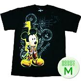 キングダムハーツ ミッキーマウス キーTee/Kingdom Hearts Mickey Key T-Shirt ゲームTシャツ M【並行輸入】