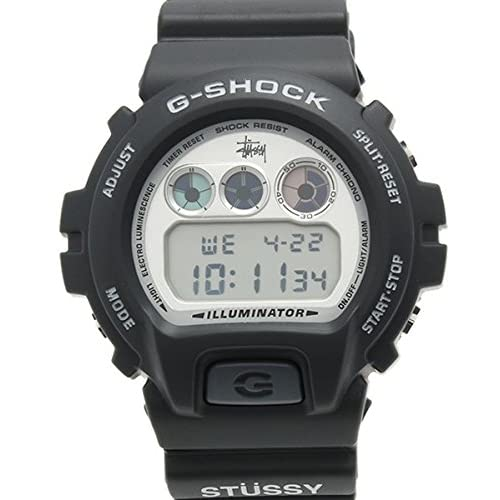 カシオ CASIO 腕時計 G-SHOCK ジーショック Stussy × Casio G-Shock コラボ DW-6900STF-1JR 35周年記念モデル 初代復刻