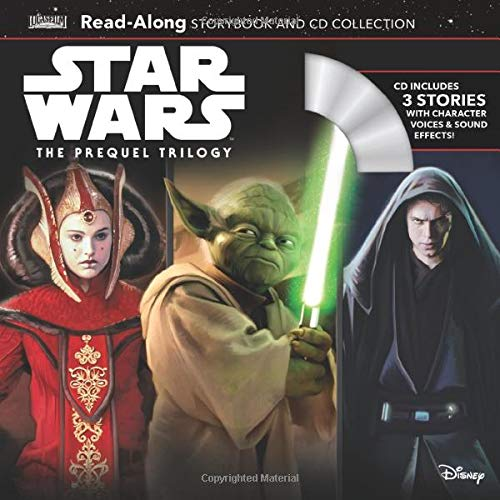 Disney Lucasfilm Press『Star Wars The Prequel Trilogy Read-Along Storybook & CD Collection (Read-Along Storybook and CD) 』
