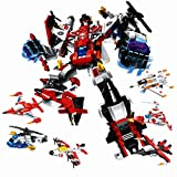 Gotte 変形ロボット 6種 戦闘機 合体 組み立て プレゼント 互換性あり