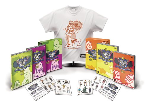 The World of GOLDEN EGGS 「SEASON 1」+「SEASON 2」 DVD-BOX (Amazon.co.jp限定カラーTシャツ付)