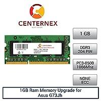 1GB RAMメモリfor Asus g73jh ( Intel Core i3/ i5/ i7620m ) ( ddr38500)ノートPCメモリアップグレードby US Seller