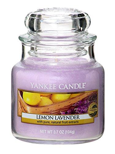 YANKEE CANDLE ヤンキーキャンドル ジャーキャンドルSサイズ レモンラベンダー