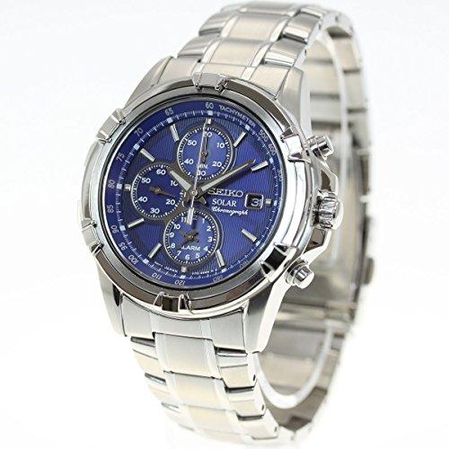 セイコー SEIKO ソーラー 腕時計 メンズ セイコー 逆輸入 クロノグラフ SSC141P1 SSC141PC   逆輸入品