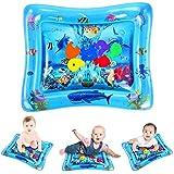 ELOKI ウォーター マット 赤ちゃん プレイマット 知育玩具 夏の日 熱中症対策 水遊び マット 子ども クッション怪我防止 出産祝い お誕生日 取り付け簡単 コンパクト 洗濯でき 3ヶ月以上