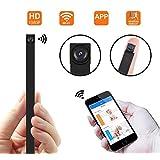1080P HD P2P Wifi 超小型 動体検知 高画質隠しカメラ 長時間録画対応 防犯監視カメラ スパイカメラ 日本語取扱 iPad / iPhone / Android 対応