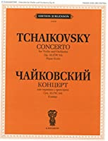 Concerto for violin and orchestra. Op. 35 (CW 54). Piano Score and violin part. Ed. by K. Mostras and D. Oistrakh.