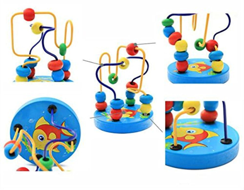 幼児期のゲーム 子どもたちのための創造的な漫画の魚パターン捲り玩具初期の教育