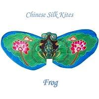ブランドオリジナルボックスGreen Frog Kite – Chinese手作りシルクKites