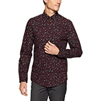 Ben Sherman Men's Long Sleeve Marl Paisley Shirt