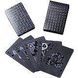 ブラック トランプ 防水 フレックスカード マジック 黒い 手品 54枚入り ダイヤモンドシリーズ