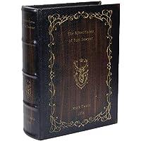 アンティーク風 シークレットボックス Lサイズ 「THE Adventures of Tom Sawyer」 洋書型 小物入れ アクセサリー 収納 金庫 ケース