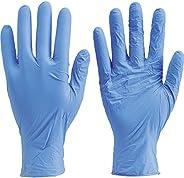 TRUSCO(トラスコ) ニトリル 使い捨て 極薄 手袋 SS バイオレット 紫 粉なし 0.06 200枚 TGL-442-SS SS パープル 青