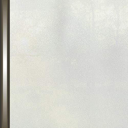 AIDON 窓 めかくしシート 窓用フィルム ガラスフィルム UVカット 窓飾りシート 断熱 遮光 水で接着 貼り直...