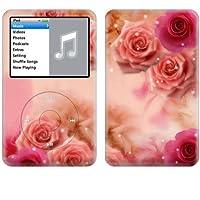 Apple iPod classic スキンシール [IPC-BF16 ピンクローズ ]