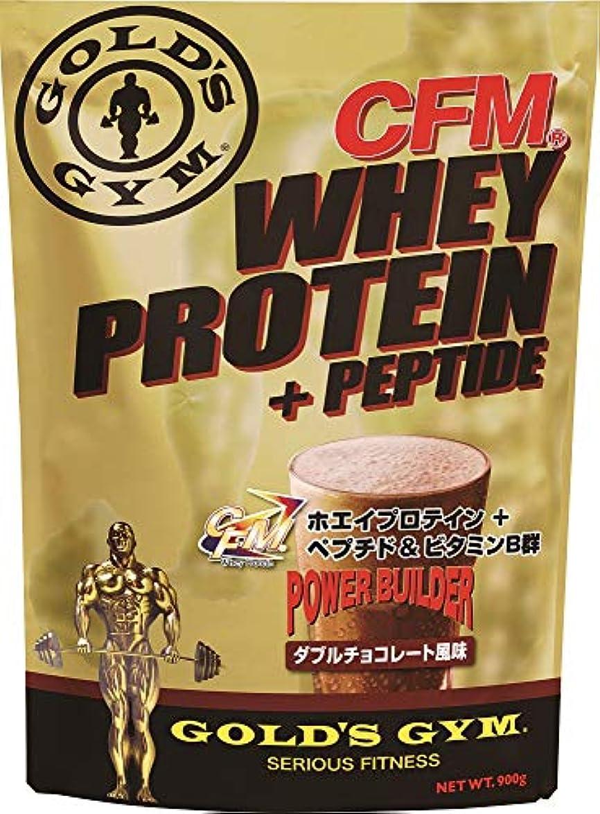 ペグけがをする記念碑的なゴールドジム(GOLD'S GYM) CFMホエイプロテイン ダブルチョコレート風味 2kg