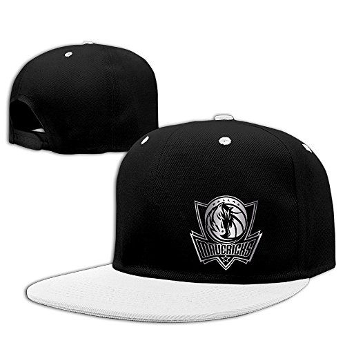 【エクセル】メンズ レディース 野球帽 ダラス・マーベリックス プラチナ ロゴ ヒップホップ 平ツバキャップ 100%コットン製 ファッション ファッションリーダー 小顔効果 調節可能 5カラー