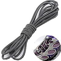 2組/セット弾性靴紐を結ぶなし子供のための簡単なレース、男性&女性22色 #6
